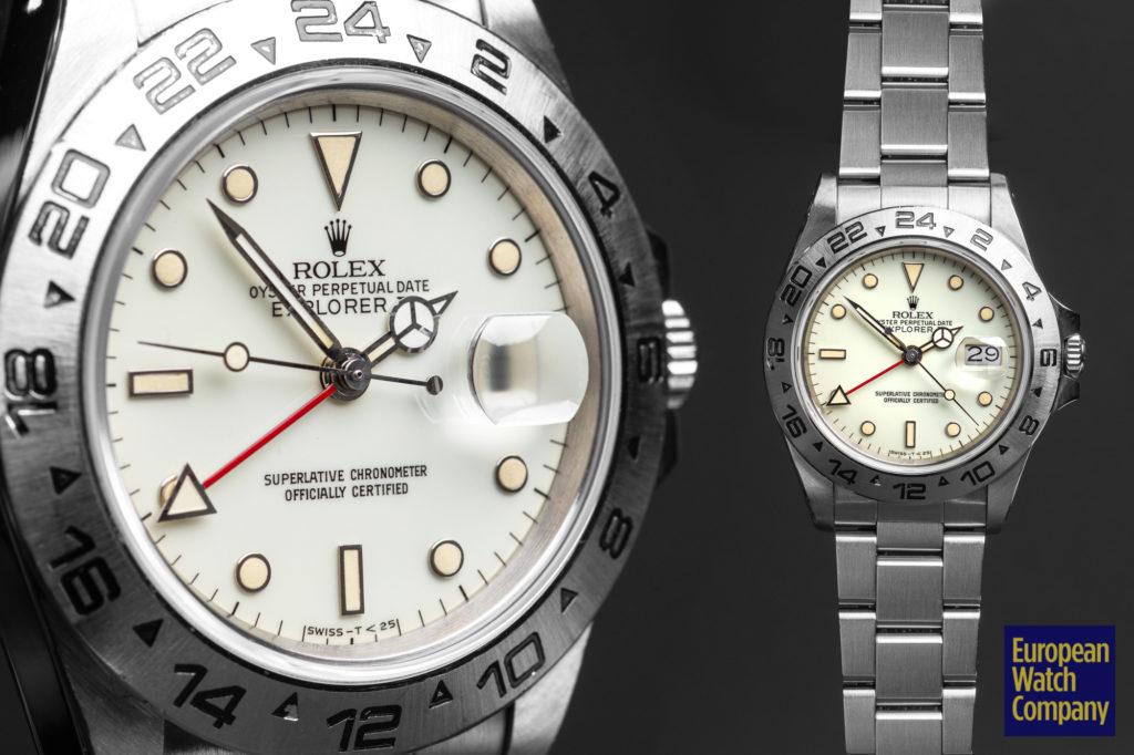 Rolex-Explorer-ii-Cream-Dial-16550