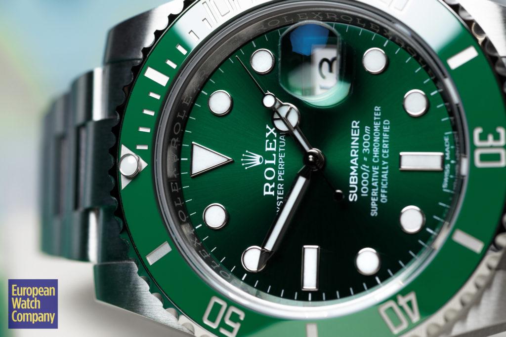 Rolex-Submariner-16610LV-116610LV-126610LV-Kermit-Hulk