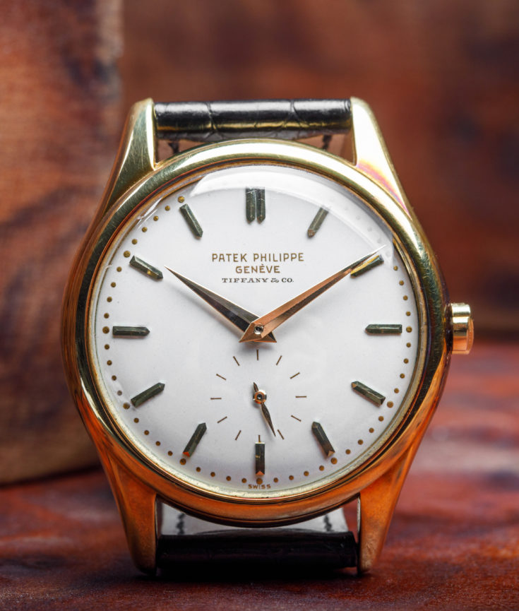 Albert Ganjei's Tiffany Stamped Patek Philippe 2526