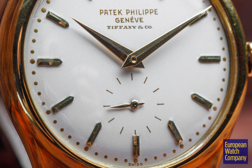 Albert Ganjei's Tiffany Stamped Patek Philippe 2526