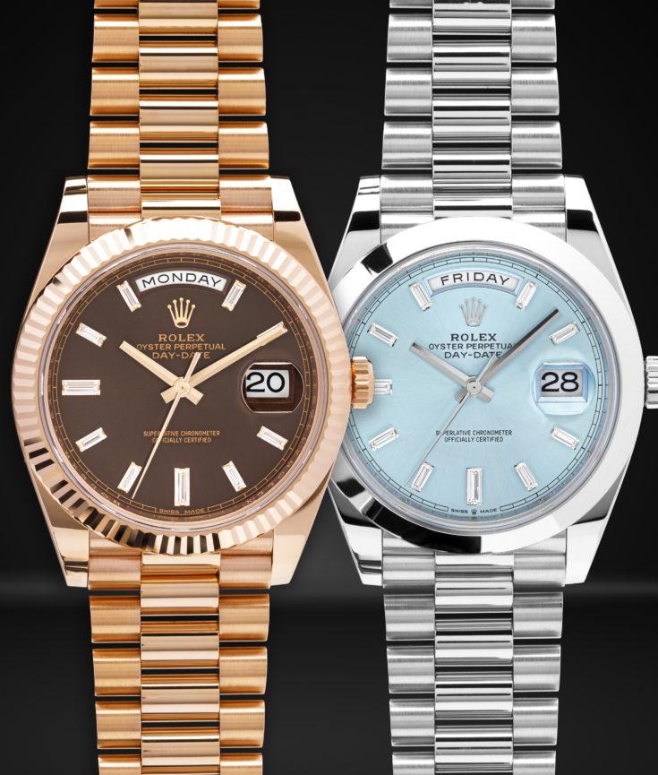 Rolex-Day-Date-President-228235-228206-Diamonds-Platinum-Everose