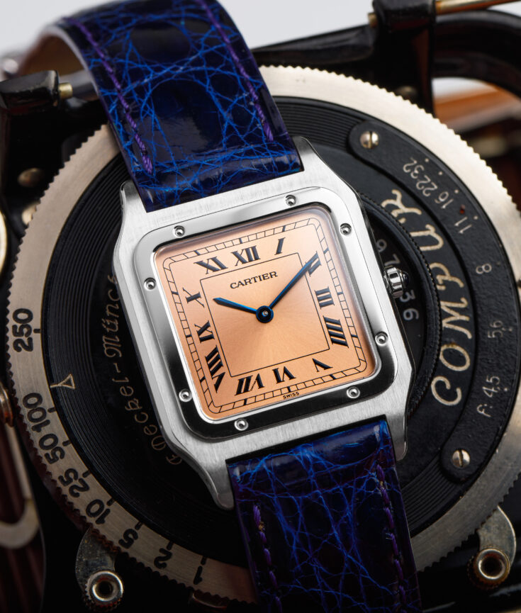 Cartier Santos Dumont 1575 Ultra Thin Special Limited Edition