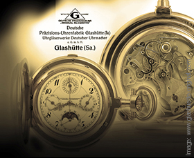 Glashutte Watchmaking History