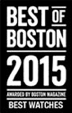 European Watch Co. Best of Boston 2015